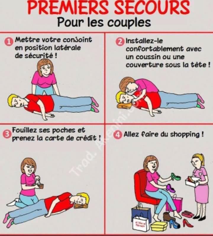 Premiers secours pour les couples