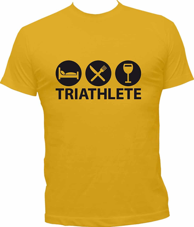 T-Shirt Humoristique Triathlète
