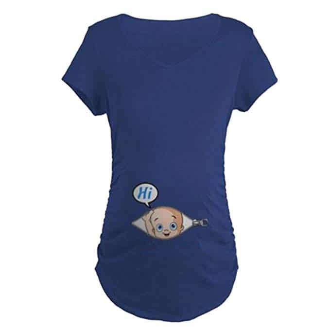 T-Shirt de Maternité Femme Maternité Grossesse