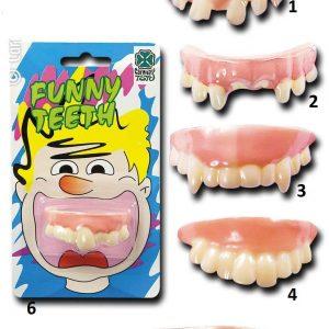 Dentier dent Humour Humoristique Déguisement