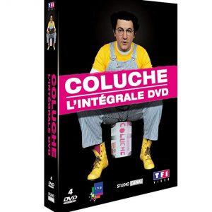 Coffret Coluche - 4 DVD