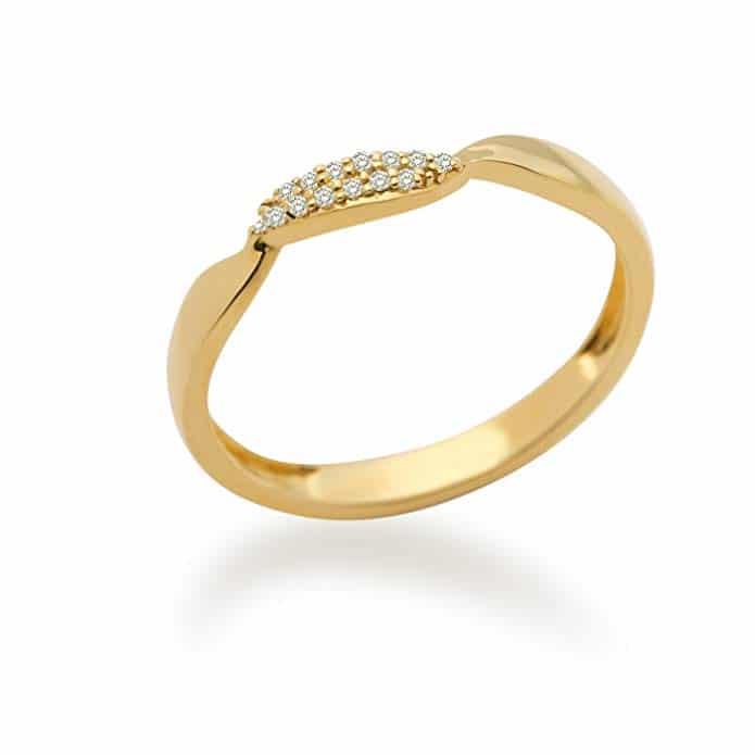 Bague Femme - Or jaune (18 carats)