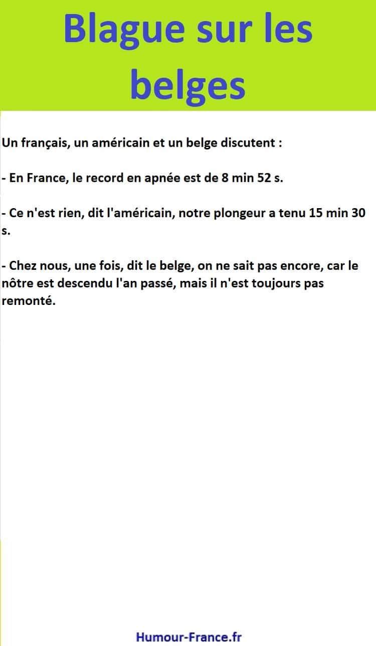 Un français, un américain et un belge discutent