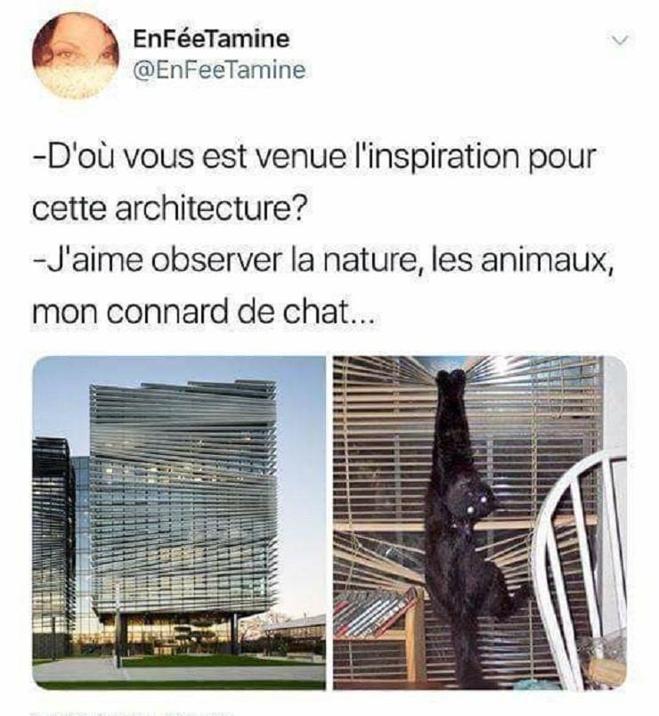 D'ou vous est venue l'inspiration pour cette architecture