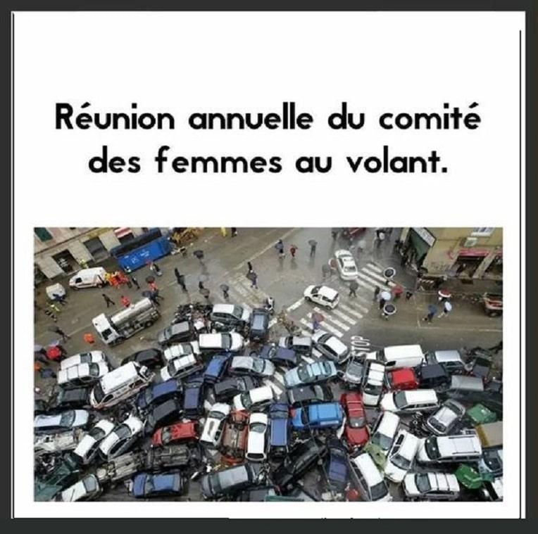 Réunion annuelle du comité des femmes au volant