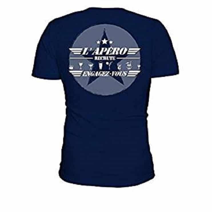 T-Shirt Homme L'Apéro Recrute Engagez-Vous