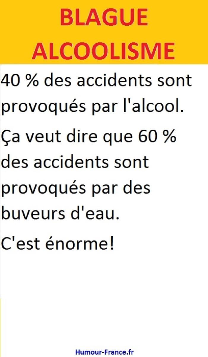 40 % des accidents sont provoqués par l'alcool