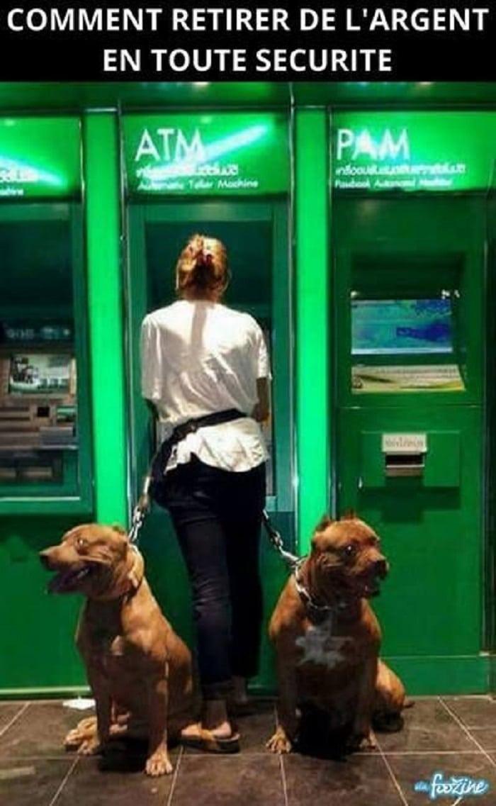 Comment retirer de l'argent en toute sécurité