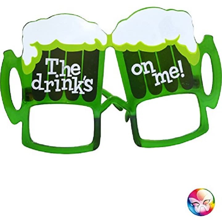 Lunettes chope de bière sans verre