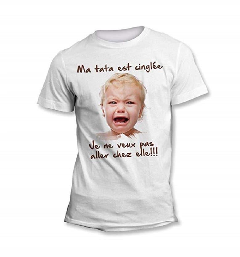Tee-Shirt Bébé et Tata