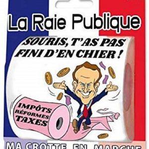 Humour Papier Toilette Raie Publique