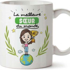 Mug/Tasse - La Meilleure Sœur du Monde - Tasse Originale