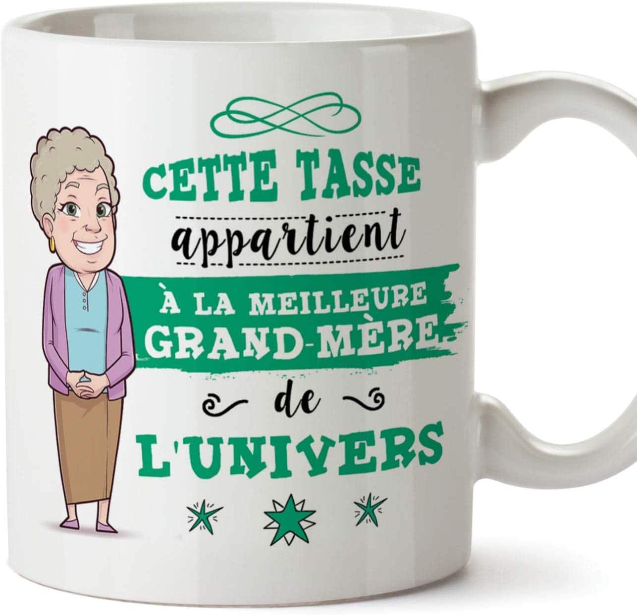 Mug/Tasse - Cette Tasse Appartient à La Meilleure Grand-Mère de l'univers