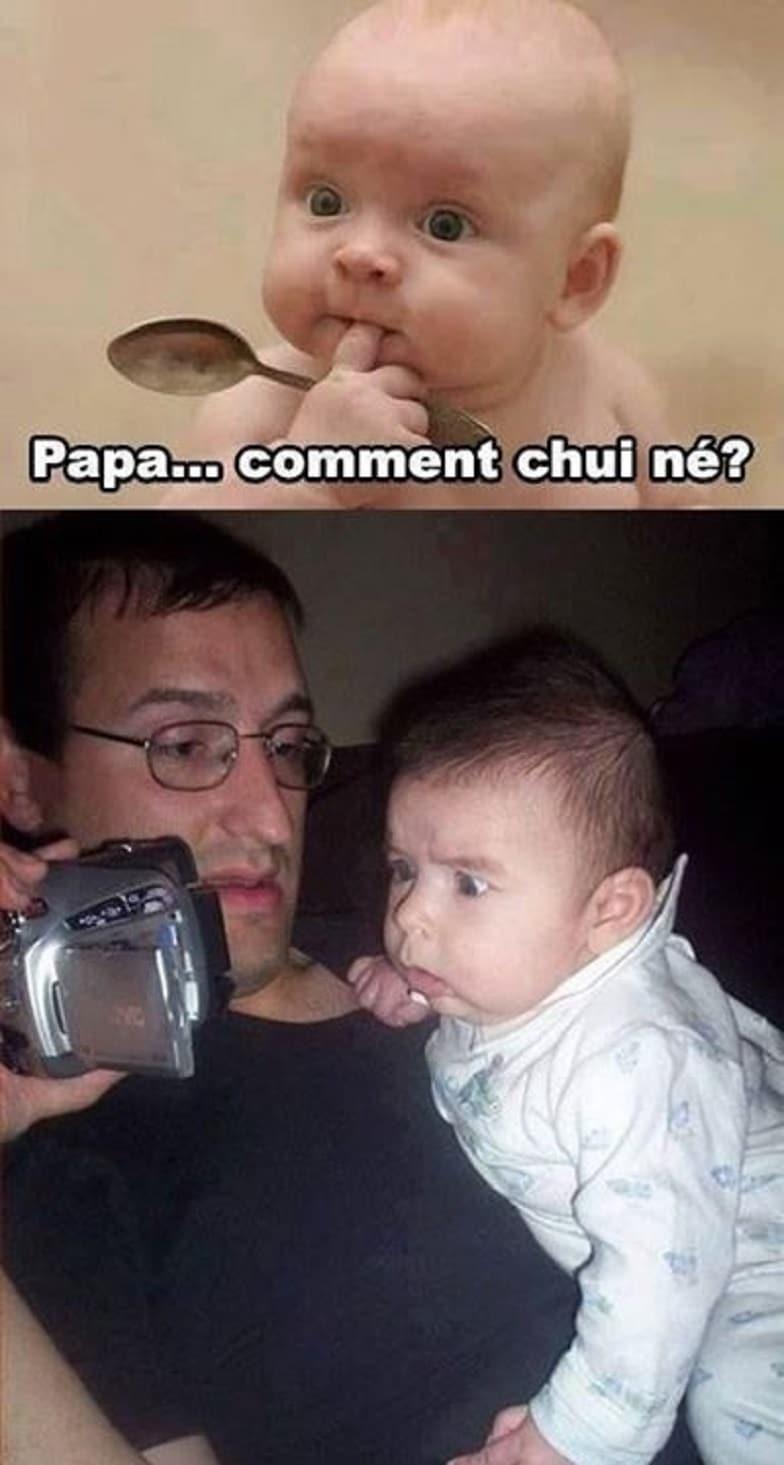 Papa ... Comment je suis né