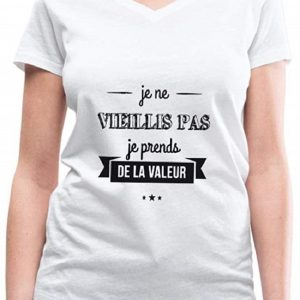 Anniversaire Je Vieillis Pas Humour T-Shirt