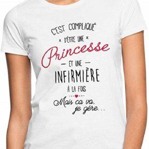 Princesse Et Infirmière À La Fois T-Shirt Femme