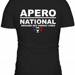 T-Shirt Apéro National, Brigade des Verres vides
