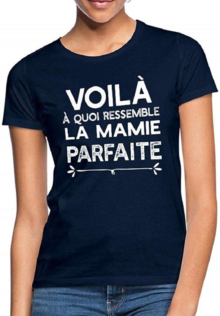 Voilà La Mamie Parfaite T-Shirt Femme