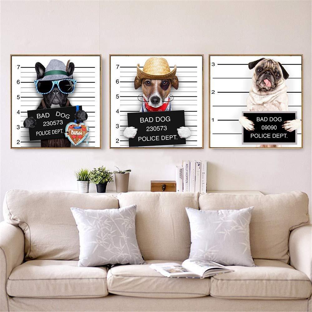 Chiens Affiche Décoration À La Maison