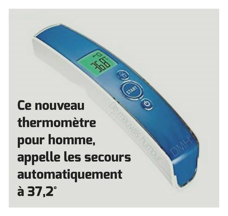 Ce nouveau thermomètre pour homme...