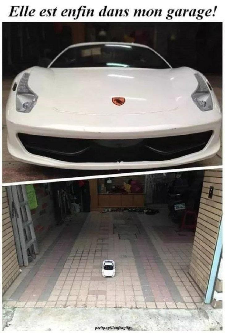 Elle est enfin dans mon garage !