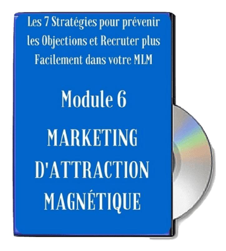 Module 6 - Marketing d'Attraction Magnétique