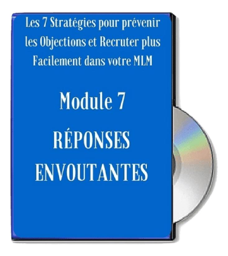 Module 7 - Réponses Envoûtantes