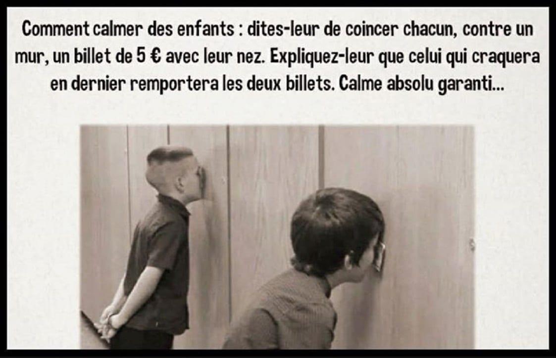 Comment calmer des enfants
