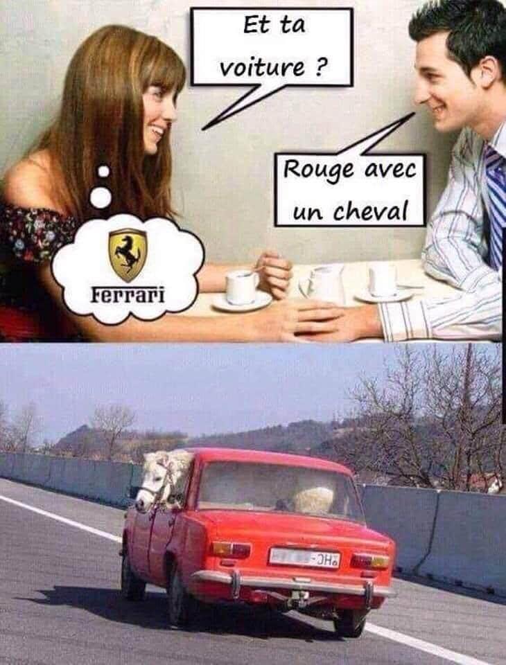 Et ta voiture