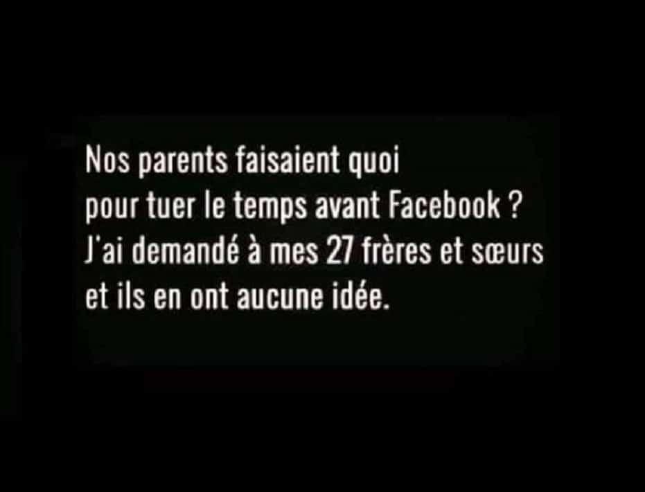 Nos parents faisaient quoi pour tuer le temps avant Facebook