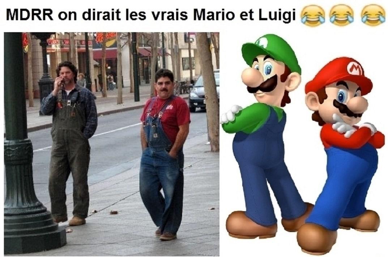 On dirait les vrais Mario et Luigi