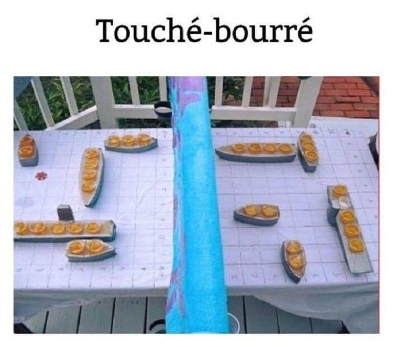 Touché - bourré