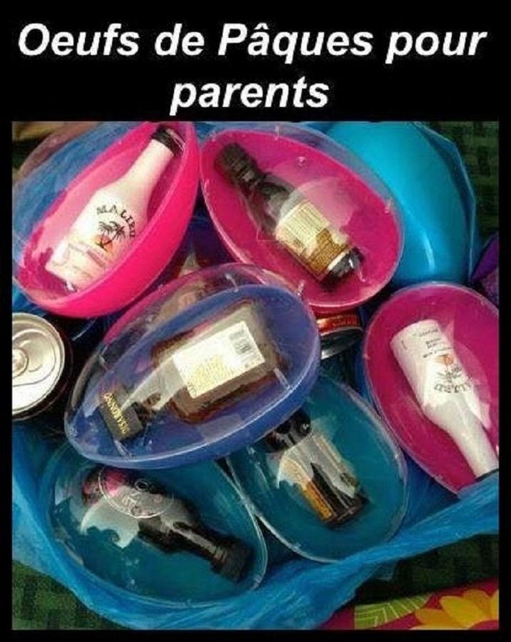 Œufs de pâques pour parents