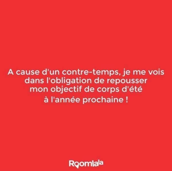 A cause d'un contre-temps...