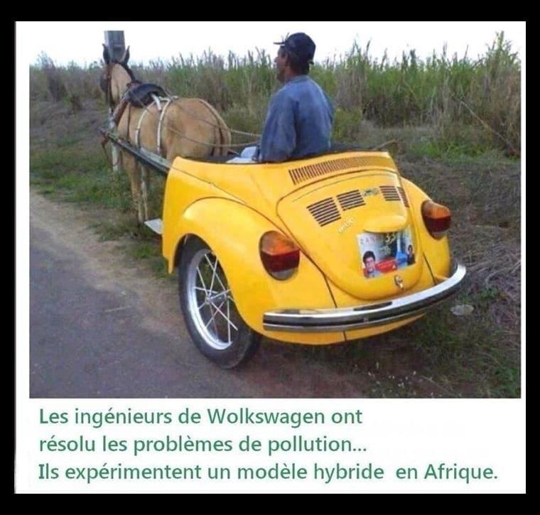 Les ingénieurs de Volkswagen ont résolu les problème de pollution