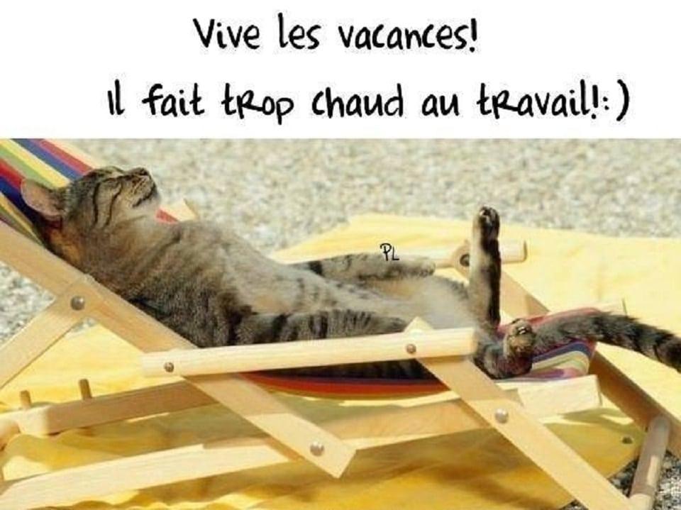 Vive les vacances