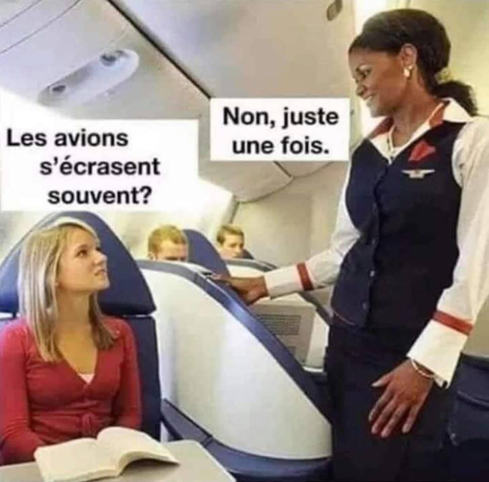 Les avions s'écrasent souvent