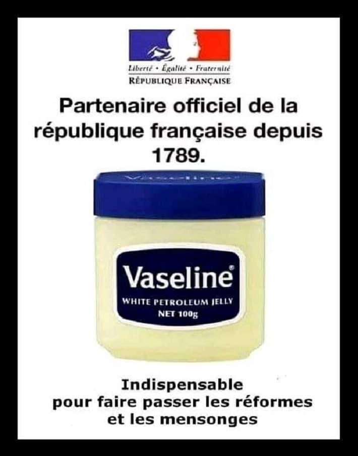 Partenaire officiel de la république française depuis 1789