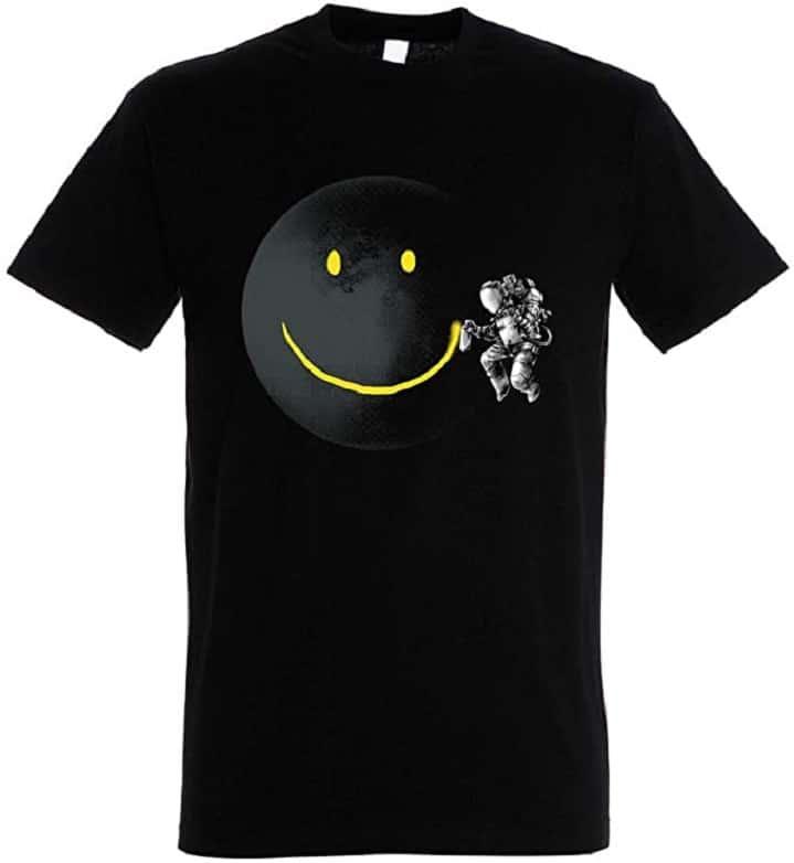 T-Shirt Make a Smile - Astronaute dans l'Espace