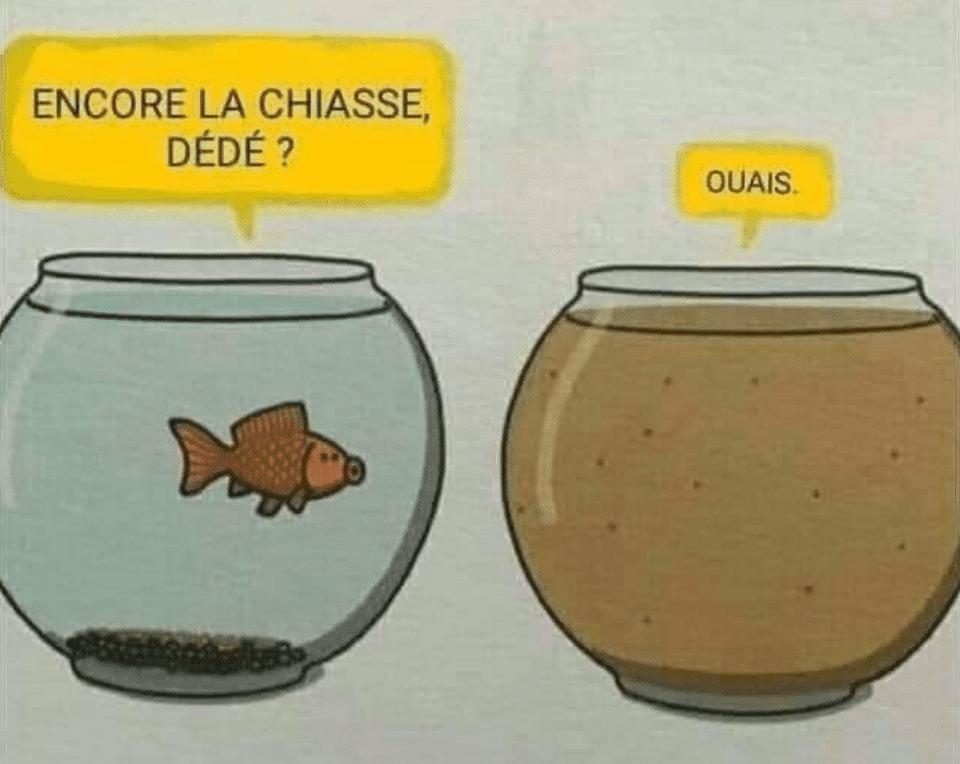 Encore la chiasse, Dédé