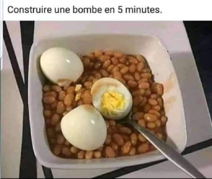 Construire une bombe en 5 minutes