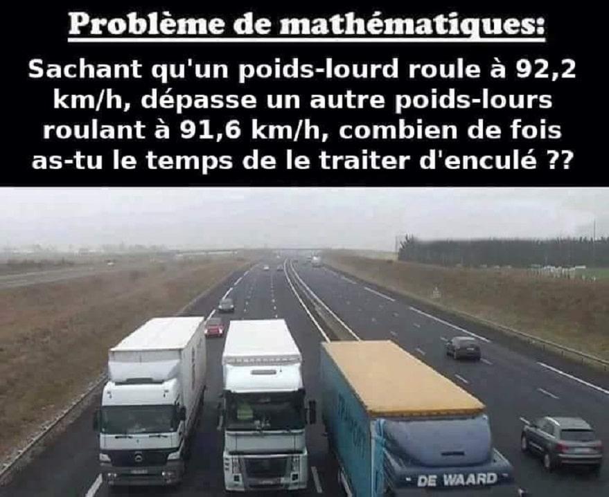 Problème de mathématiques