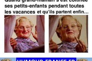 Quand grand-maman s'est coltinée ses petits-enfants pendant toutes les vacances