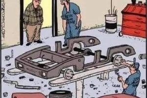 Vous allez rire, le bruit c'était qu'une bille dans le cendrier !!!