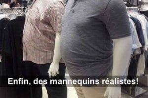 Enfin, des mannequins réalistes !