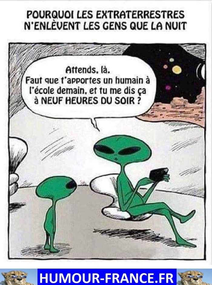 Pourquoi les extraterrestres n'enlèvent les gens que la nuit